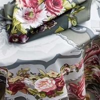 Beauville floral table linens