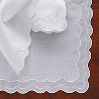 Linen and Lace Tablecloths